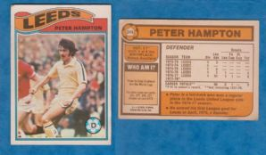 Leeds United Peter Hampton 348